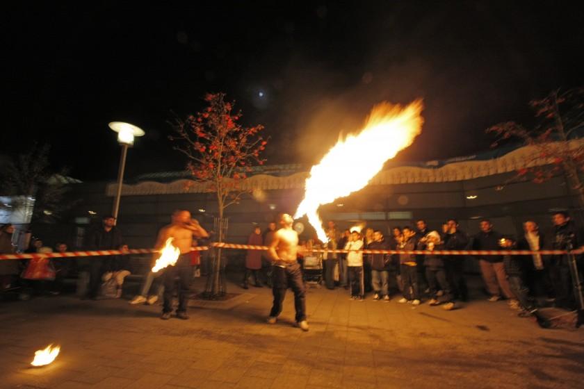 Ildspyning af Kasper